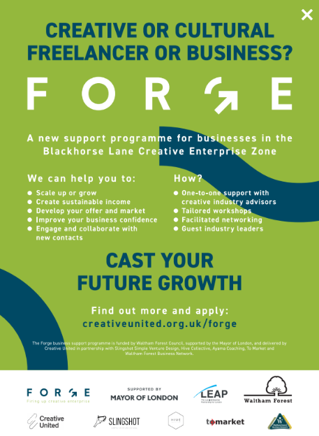 Forge Creative Business Programme
